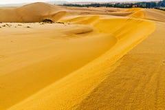 Песчанная дюна. Ne Mui. Вьетнам Стоковая Фотография