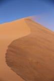 Песчанная дюна Sossusvlei Стоковое Фото
