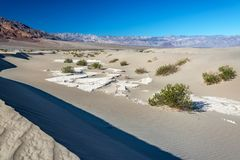 Песчанные дюны и холмы Стоковые Фотографии RF