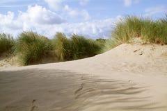Песчанные дюны пляжа Formby Стоковая Фотография RF