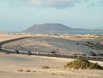 Песчанные дюны Стоковое Фото