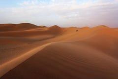 Песчанные дюны Абу-Даби Стоковые Фото