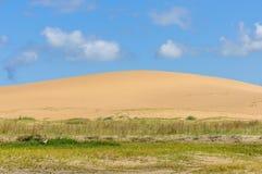 Песчанные дюны в Cabo Polonio, Уругвае Стоковое Фото