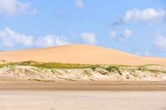 Песчанные дюны в Cabo Polonio, Уругвае Стоковые Фото
