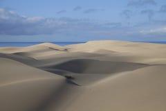 Песчанные дюны в Maspalomas Стоковое Изображение RF