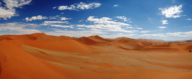 Песчанные дюны около Swakopmund стоковая фотография rf