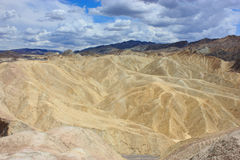Песчанные дюны долины смерти Стоковая Фотография