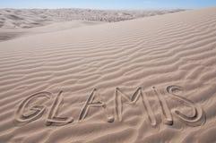 Песчанные дюны пустыни стоковое фото rf