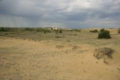 Песчанные дюны Саскачевана Стоковые Изображения