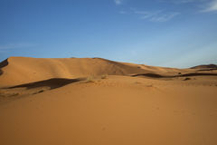 Песчанные дюны Сахары Стоковые Изображения RF