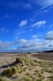 Песчанные дюны Holkham - портрет Стоковые Фотографии RF