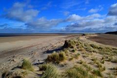 Песчанные дюны Holkham Стоковое Фото