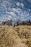 Песчанные дюны Lake Michigan 2 Стоковые Фото