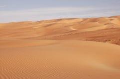 Песчанные дюны Liwa Стоковое фото RF