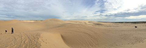 Песчанные дюны Mui NÐΜ Стоковое Фото