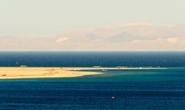 Песчаный нанос Laguna Стоковые Фотографии RF