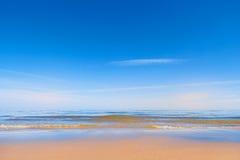 Песчаный пляж стоковые фото