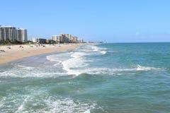 Песчаный пляж Флориды Стоковые Фото