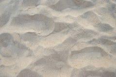 Песчаный пляж для предпосылки текстура песка предпосылок идеально Взгляд сверху Стоковые Фотографии RF