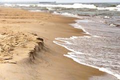 Песчаный пляж Стоковые Изображения RF
