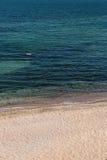 Песчаный пляж Стоковая Фотография