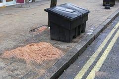 Песчинка соли стоковое изображение