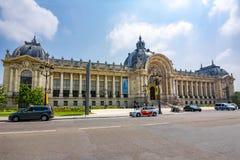 Петит дворец Palais малый в Париже, Франции стоковое изображение rf