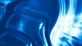 Петля абстрактной голубой шелковистой предпосылки безшовная акции видеоматериалы