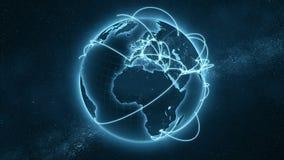 Петля глобальной вычислительной сети - голубая версия