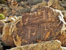 Петроглифы зазора Parowan в Юте Стоковая Фотография RF