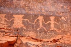 петроглифы Стоковое Фото