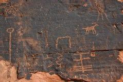 петроглифы Стоковое Изображение RF