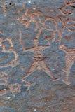 петроглиф s Стоковая Фотография RF