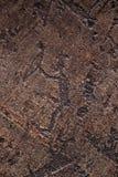 петроглиф Стоковое фото RF