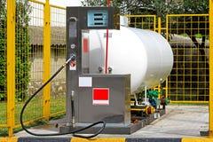 петролеум разжиженный газом Стоковые Изображения RF