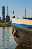 петрохимический порт Стоковое Изображение