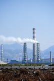 Петролеум и химический завод Китая Стоковое Изображение