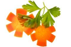петрушка морковей Стоковое Изображение