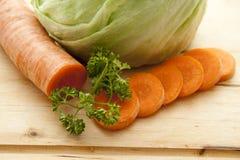 петрушка моркови Стоковое Изображение RF