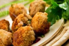 петрушка meatballs Стоковое фото RF