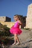 петь девушки платья балета розовый Стоковые Изображения