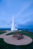 петь корабля памятника Стоковые Фото