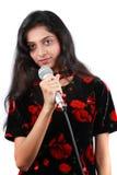 петь красотки Стоковые Фото
