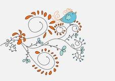 петь птицы милый иллюстрация штока