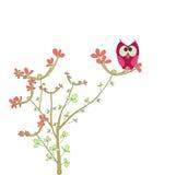 петь птицы милый иллюстрация вектора