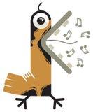 петь птицы Стоковое Фото