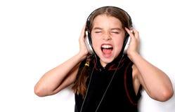 петь ребенка Стоковые Изображения RF