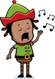 петь эльфа Стоковые Изображения