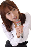 петь стоковая фотография