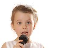 петь Стоковые Фото